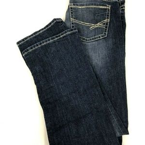 BKE Denim Dakota Boot Cut Dark Wash Jeans 28R